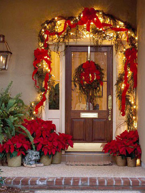Christmas-front-door-decorating-ideas